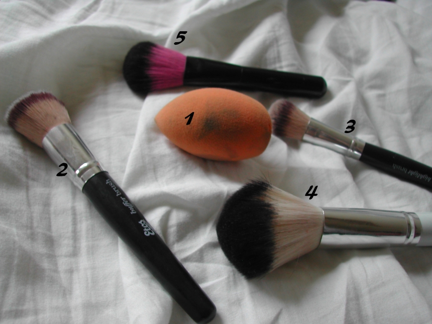face-brushes